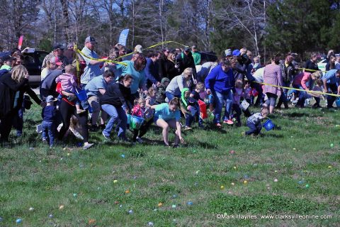 Yellow Creek Baptist Church held their annual Community Easter Egg Hunt on Saturday, March 31st.