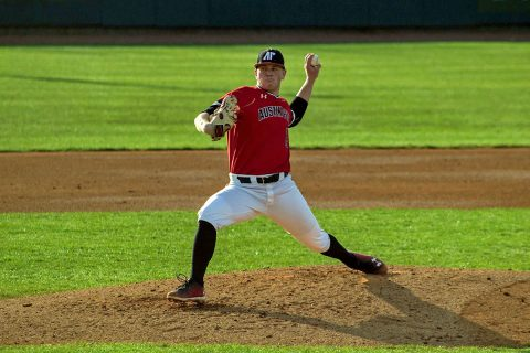 Austin Peay Baseball gets 5-2 win over Belmont at E.S. Rose Park, Saturday. (APSU Sports Information)
