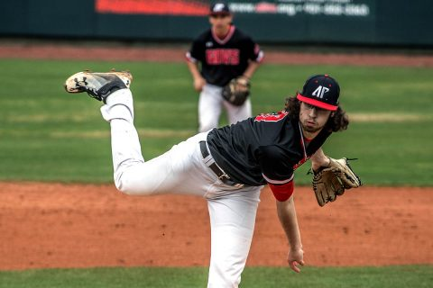 Austin Peay Baseball loses to Belmont 4-0 Sunday afternoon at E.S. Rose Park. (APSU Sports Information)