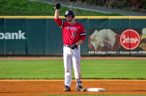 Austin Peay Baseball's Parker Phillips had five home runs in Govs doubleheader win against Eastern Kentucky, Friday. (APSU Sports Information)