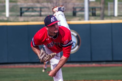 Austin Peay Baseball pitcher Michael Costanzo pitches seven inning shutout against Morehead State, Friday. (APSU Sports Information)