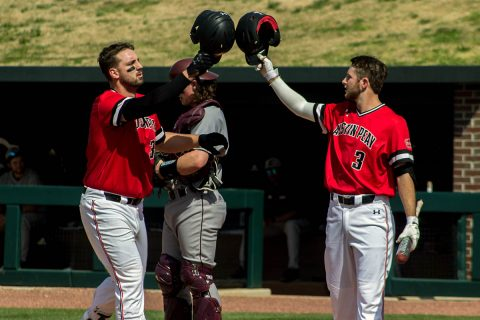 Austin Peay Baseball plays weekend series against UT Martin at Raymond C. Hand Park starting Friday. (APSU Sports Information)