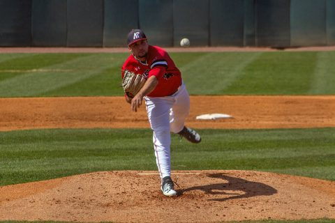 Austin Peay Baseball falls to UT Martin at Raymond C. Hand Park Friday night, 8-6. (APSU Sports Information)