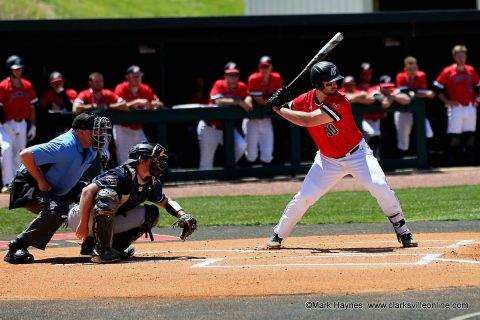 Austin Peay Baseball plays Western Kentucky Tuesday night at Raymond C. Hand Park.