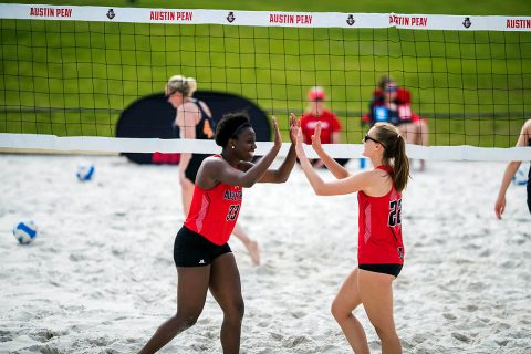 Austin Peay Beach Volleyball will hold tournament at the new Govs Beach Volleyball Complex. (APSU Sports Information)