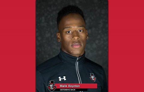 APSU Football's Malik Boynton
