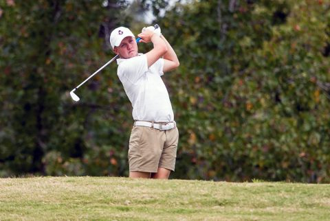 Austin Peay Men's Golf battles difficult conditions in final day at Bubba Barnett Intercollegiate. (APSU Sports Information)