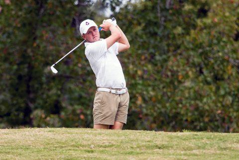 Austin Peay Men's Golf battles difficult conditions in final day at Bubba Barnett Intercollegiate. (APSU Sports Information)