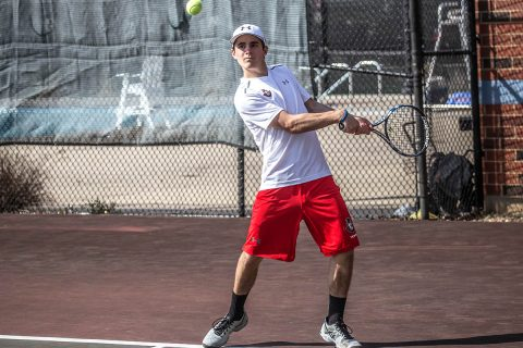 Austin Peay Men's Tennis travels to Eastern Kentucky Friday before heading into the OVC Tournament next week. (APSU Sports Information)