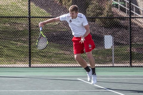 Austin Peay Men's Tennis falls to Eastern Kentucky 4-0 in first round of OVC Tournament. (APSU Sports Information)