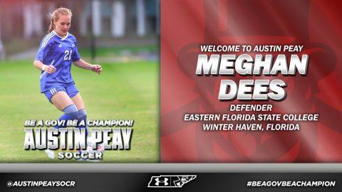 APSU Soccer signs Meghan Dees