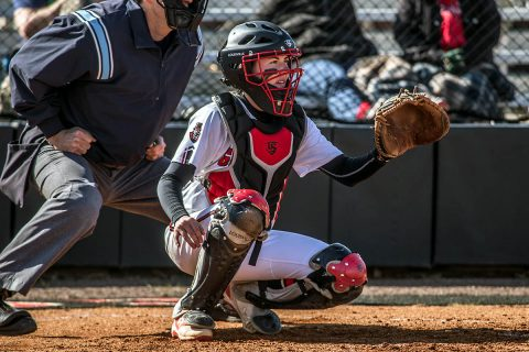 Middle Tennessee scores three runs in the bottom of the six for 3-2 win over Austin Peay Softball, Monday. (APSU Sports Information)
