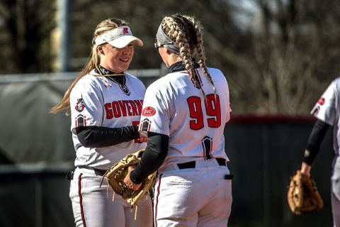 Austin Peay Softball beats Southeast Missouri 5-2 but falls in the nightcap 11-2 at Cheryl Holt Field, Friday. (APSU Sports Information)