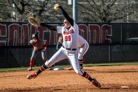 Austin Peay Softball loses 2-1 and 5-3 at home to Jacksonville State, Friday. (APSU Sports Information)