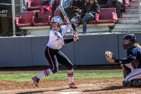 Austin Peay Softball downs Belmont 1-0 in extra innings, then gets 7-2 win in the second game Saturday at E.S. Rose Park. (APSU Sports Information)