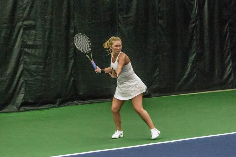 Austin Peay Women's Tennis fell 5-2 to Murray State at the Governors Tennis Courts, Tuesday. (APSU Sports Information)