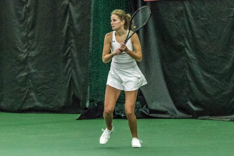 Austin Peay Women's Tennis hands rival Murray State a 4-1 loss to advance to the OVC Championship. (APSU Sports Information)