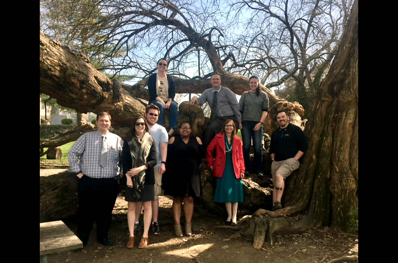 Austin Peay State University history students attend Regional Phi Alpha Theta Meeting.