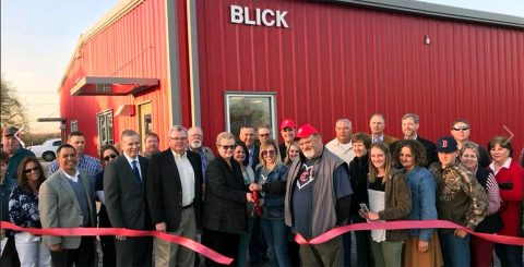 Austin Peay State University dedicates Brock Blink Animal Science Facility.
