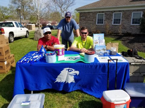 Thanks to the Fort Campbell DPW Environmental Division, residents learned all about recycling, air quality and storm water.