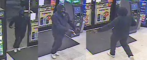 Clarksville Police are looking for the person in these photos for the robbery of the Circle K located on Dover Road.