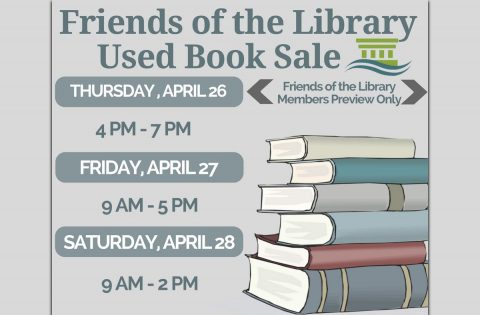Friends of the Library Spring Used Book Sale
