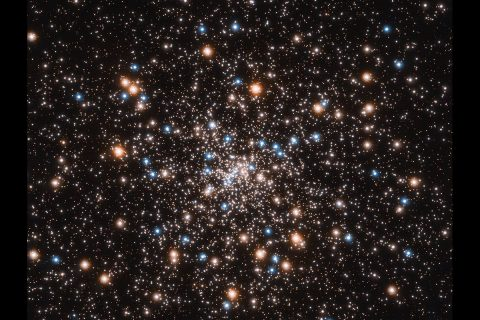 This ancient stellar jewelry box, a globular cluster called NGC 6397, glitters with the light from hundreds of thousands of stars. (NASA, ESA, and T. Brown and S. Casertano (STScI) ; Acknowledgement: NASA, ESA, and J. Anderson (STScI))