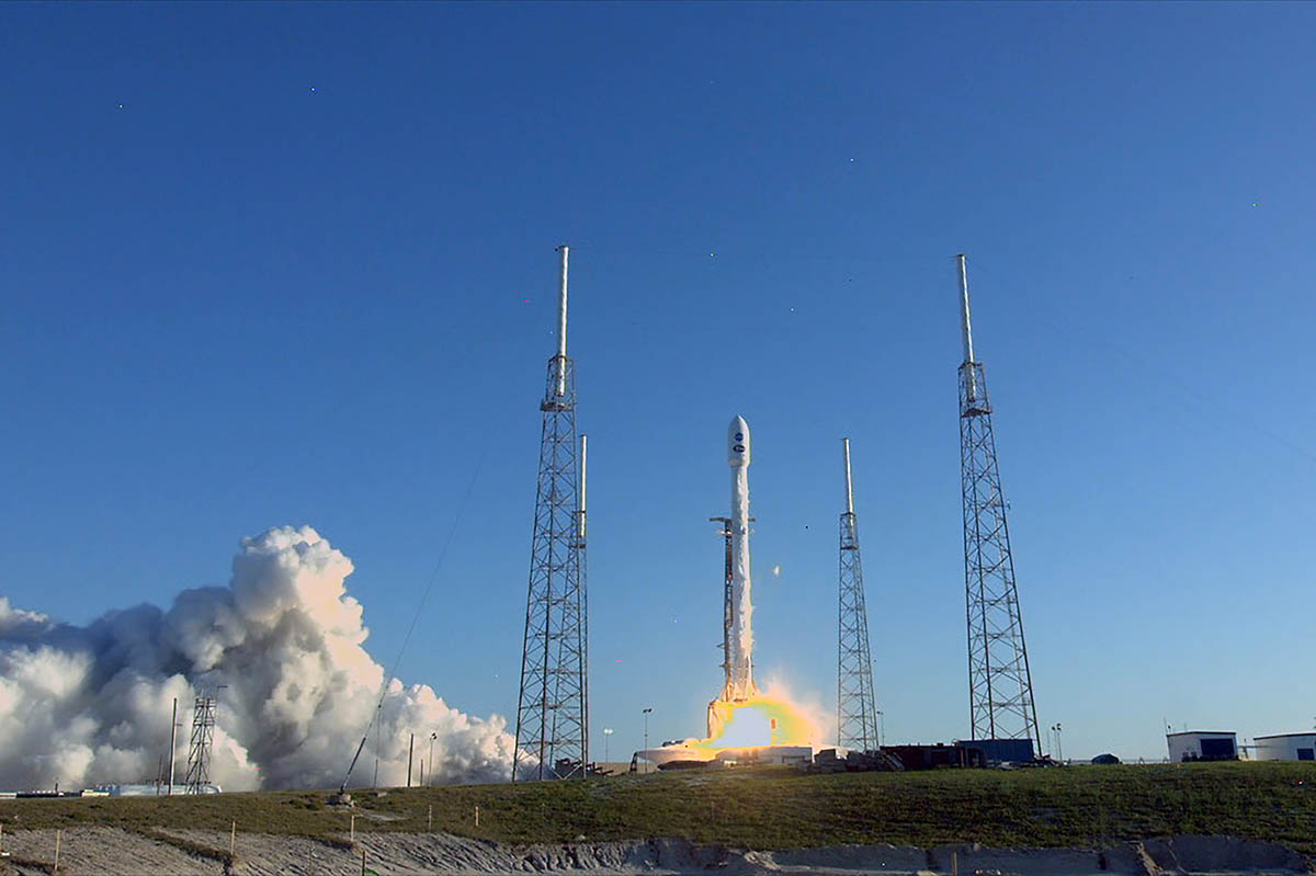 NASA's next planet-hunter, the Transiting Exoplanet Survey Satellite (TESS), successfully launched on a SpaceX Falcon 9 on April 18, 2018. TESS will search for new worlds outside our solar system for further study. (NASA Television)