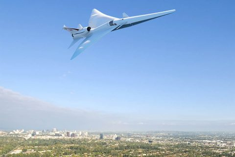 NASA awards a contract for the design, building and testing of a supersonic aircraft to Lockheed Martin Aeronautics Company of Palmdale, California. (NASA)