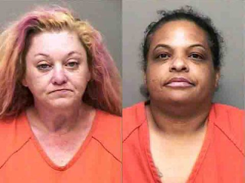 (L to R) Tammy Hicks or Sharlita Richardson are wanted by Clarksville Police for theft of property from Oakmont Drive home.