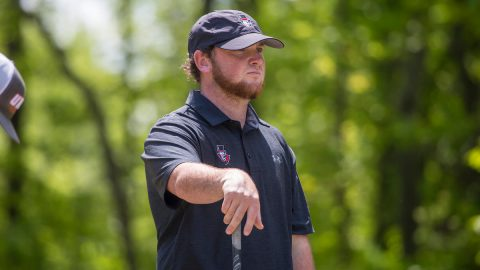 Austin Peay Men's Golf moves up to sixth on final day of OVC Tournament. (APSU Sports Information)