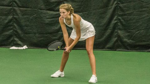 Austin Peay Women's Tennis falls to Eastern Kentucky in final regular season match. (APSU Sports Information