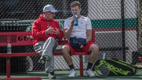 Austin Peay Men's Tennis plays Eastern Illinois at the APSU Tennis Courts this Saturday. (APSU Sports Information)