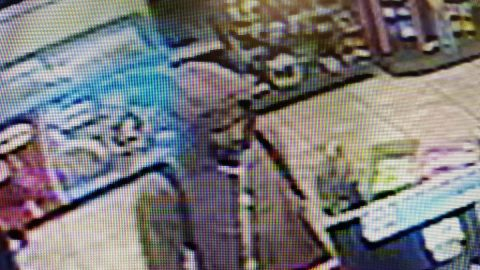 Clarksville Police are trying to identify the person in this photo for the Monday robbery of Speedy Cafe.