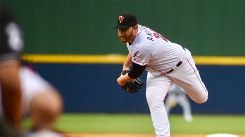 Brett Anderson Tosses Quality Start as Nashville Sounds Improves to 10-9. (Nashville Sounds)