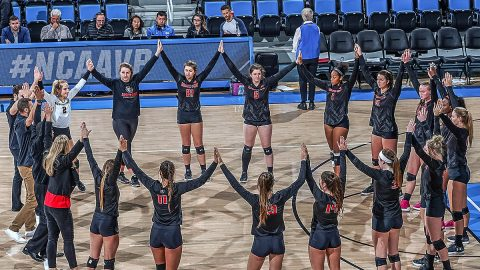 Austin Peay Volleyball kicks off the 2018 Season with home exhibition game against Trevecca on August 21st. (Don Liebig)