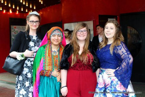 Middle College held its 2018 Prom at Roxy Regional Theatre.
