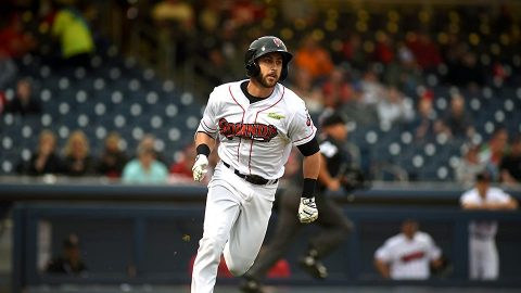 Nashville Sounds' Dustin Fowler Comes Within One Hit of the Cycle for Second Straight Game. (Nashville Sounds)