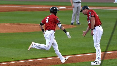 Colorado Springs Grabs 9-3 Win against Nashville Sounds in Series Opener at First Tennessee Park. (Nashville Sounds)
