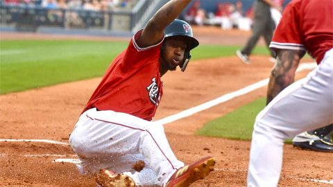 5-3 Homestand Gets Nashville Sounds to .500 on the Season. (Nashville Sounds)