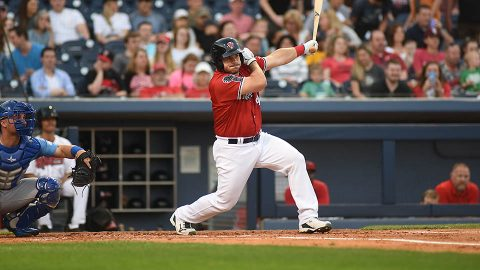 Nashville Sounds' Josh Phegley Collects Game-Winner with Two-Out Hit in 10th. (Nashville Sounds)
