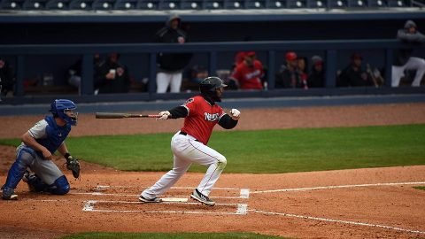 Round Rock Express Takes 1-0 Lead over Nashville Sounds in Battle for the Boot Series. (Nashville Sounds)