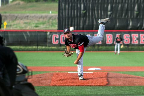 Austin Peay Baseball beats SIU Edwardsville 7-7 at Simmons Baseball Complex, Friday night. (APSU Sports Information)