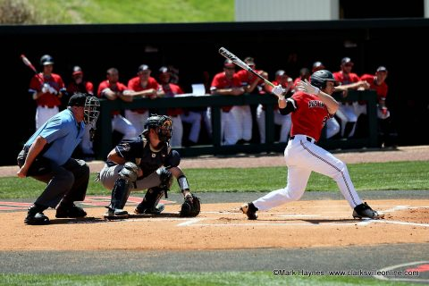 Austin Peay Baseball loses to SIU Edwardsville 12-4 Sunday at Simmons Baseball Complex. (APSU Sports Information)