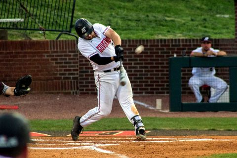 Austin Peay Baseball allowed 7 runs in the seventh inning in loss to Eastern Illinois Thursday night. (APSU Sports Information)