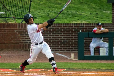 Austin Peay Baseball has it's Friday night home game against Eastern Illinois suspended due to lightning in the area, game will pick back up Saturday. (APSU Sports Information)