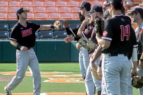 Austin Peay Baseball opens OVC Tournament Wednesday morning against Jacksonville State at Choccolocco Park. (APSU Sports Information)