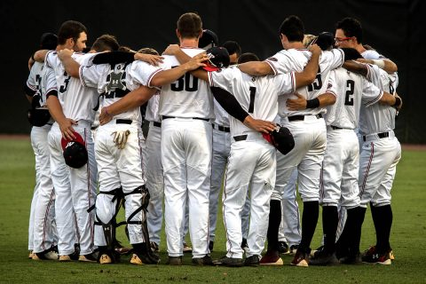 Austin Peay Baseball's offense unable to get on track Thursday night in 5-1 loss to Eastern Kentucky. (APSU Sports Information)