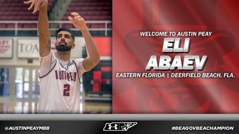 Eastern Florida State College's Eli Abaev to join Austin Peay State University Basketball team for 2018-2019. (APSU Sports Information)