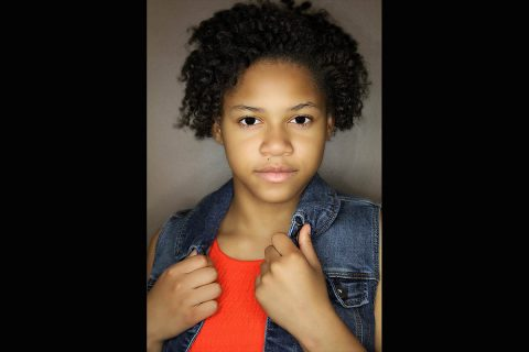 """Mikquala Skelton stars as Annie in the Roxy Regional School of the Arts production of """"Annie, Jr."""" at the Roxy Regional Theatre, May 18th - June 9th"""